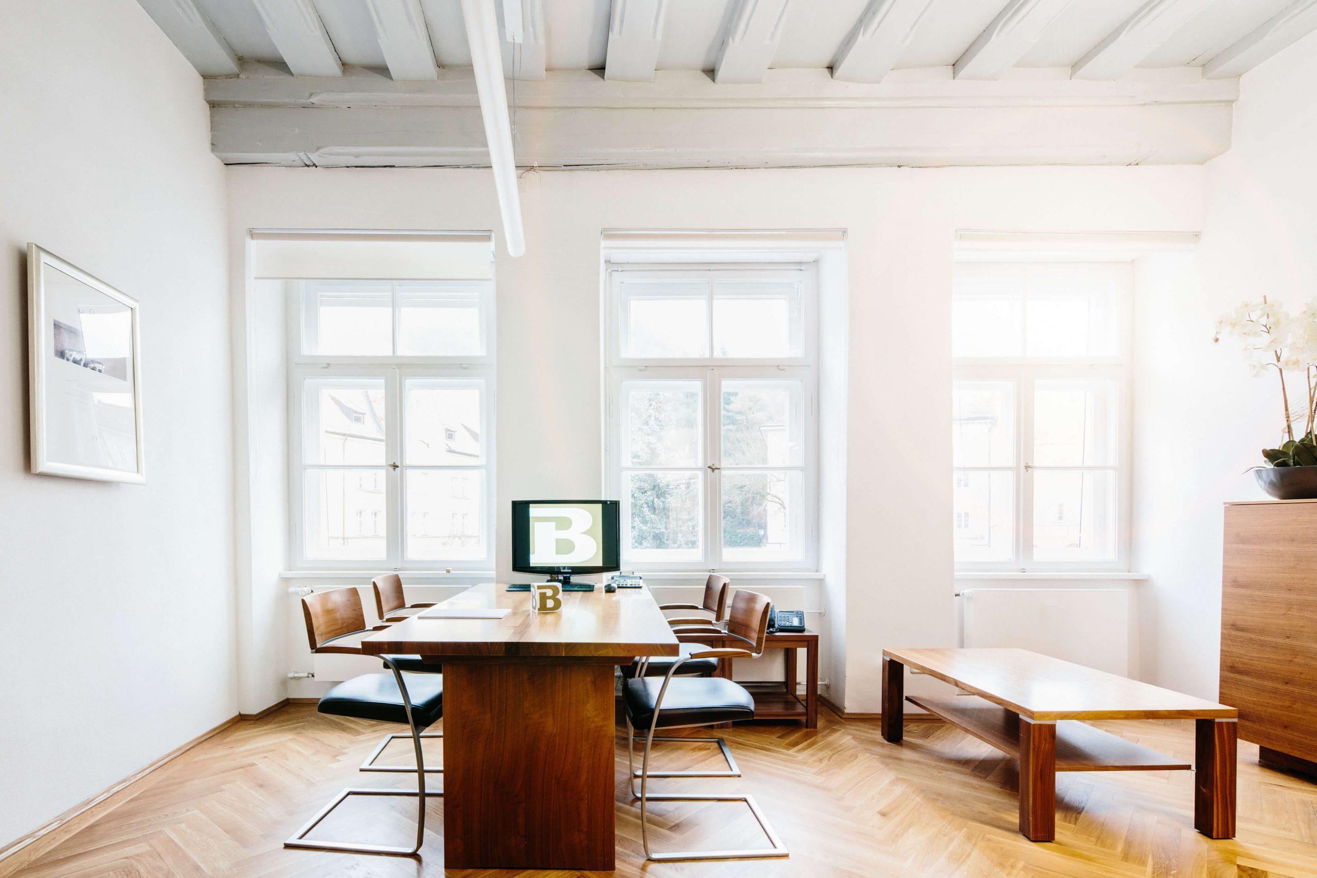 Einblick in eines der Büros.